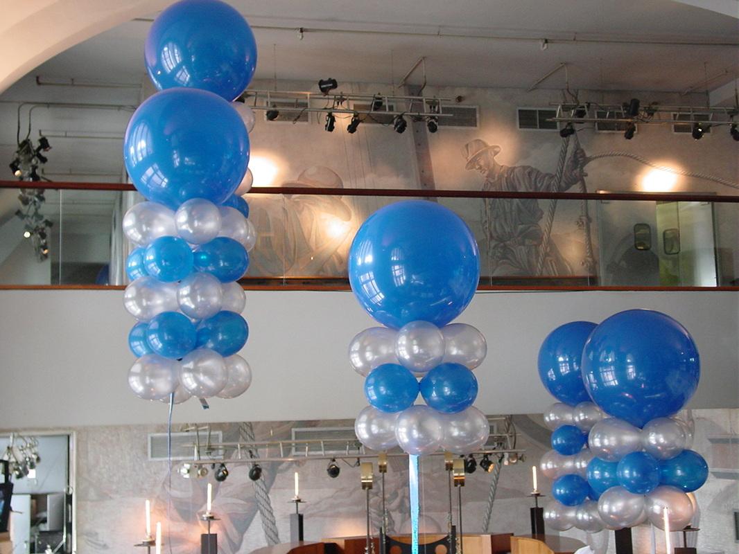 Balloon decorations balloons maryland for Balloon decoration companies